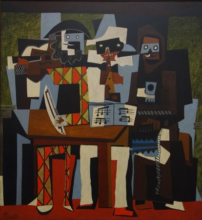 Philadelphia Museum of Art: Picasso: Three Musicians