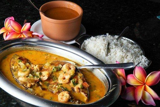 Receptivo & Restaurante Frutos do Mar : Peixe ao molho de camarão !!