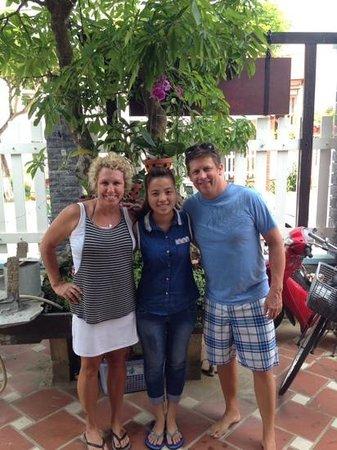 Magnolia Garden Villa: What a gracious family. Hard to say goodbye!