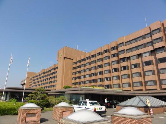 Hotel Shiroyama: 朝の散歩時に撮影