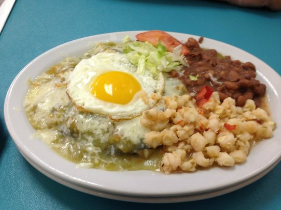 Chris' Cafe: Chicken Enchilada
