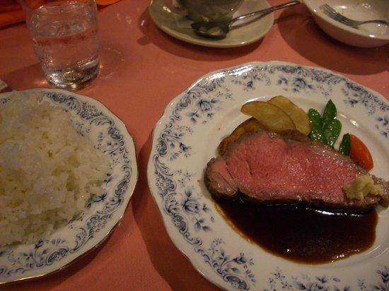 Roman no Mori Kyowakoku Hotel Silk villa: 洋食ディナー