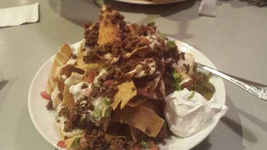 STACKED Grill: One of the best Nachos I've ever tasted.