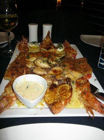 The Coachman Restaurant: Plateau de fruits de mer