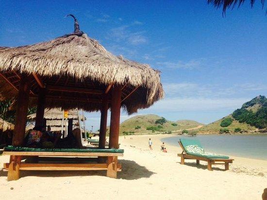 Novotel Lombok Resort and Villas : Beach area