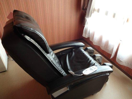 Hotel Seiryu : マッサージチェアー