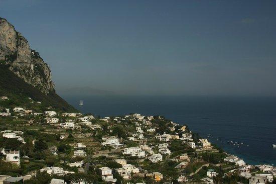 Grand Hotel Capodimonte: о.Капри, вид на залив
