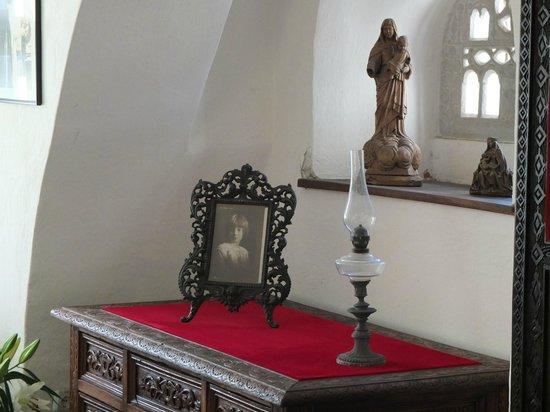 Château de Bran : Interior close up shot