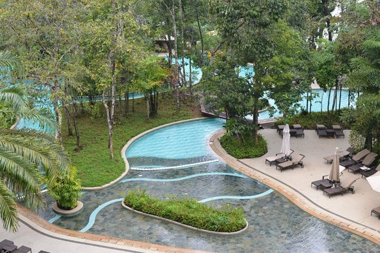 The Andaman, A Luxury Collection Resort: 朝食会場から