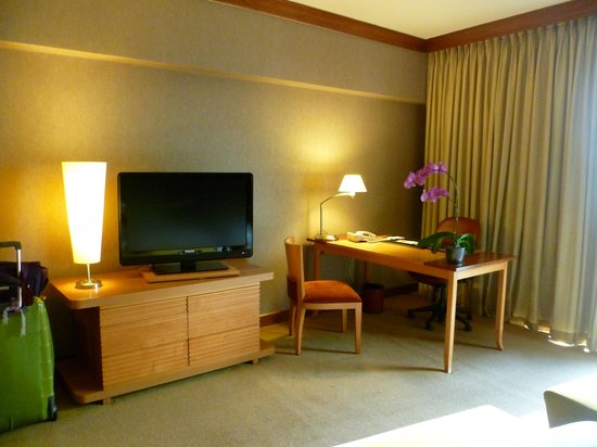 Swissotel The Stamford Singapore: The room