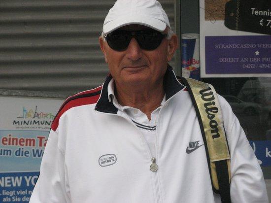Hotel Beau Rivage: Tennisti al Beau Rivage