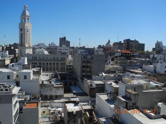 NH Montevideo Columbia: Vista desde la terraza del hotel