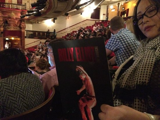 Billy Elliot The Musical : Sorry! Of course photography of the show is not allowed!