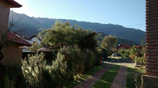Cabanas Inca Huasi: Vista al este..