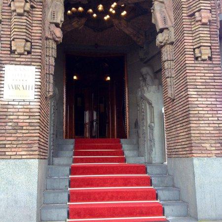 Grand Hotel Amrath Amsterdam : Skønt at komme hjem til efter en lang dag.
