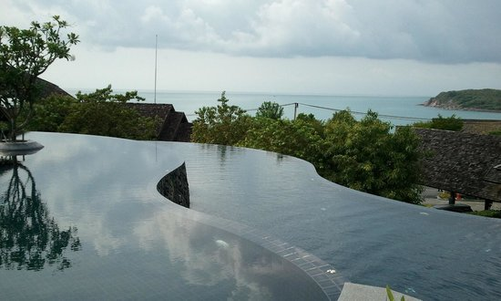 Nora Buri Resort & Spa: ヒルサイド側のプール