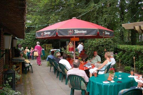 Hotel Bremers Bauerndiele: Biergarten