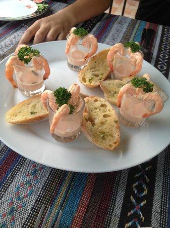 Fiore Rosa: prawn cocktail