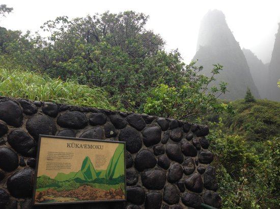 Iao Valley State Monument: 雨が上がった瞬間に撮影!