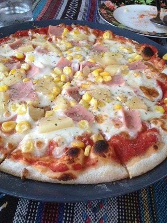 Fiore Rosa: pizza
