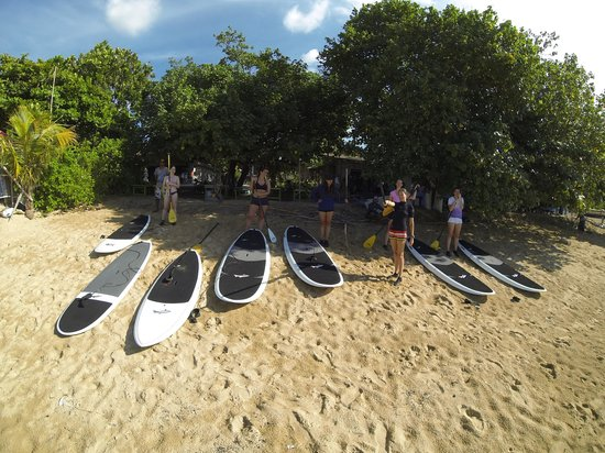SUP Yoga Bali: Beach briefing
