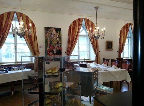 Radisson Blu Hotel Altstadt, Salzburg: Wir gehen frühstücken