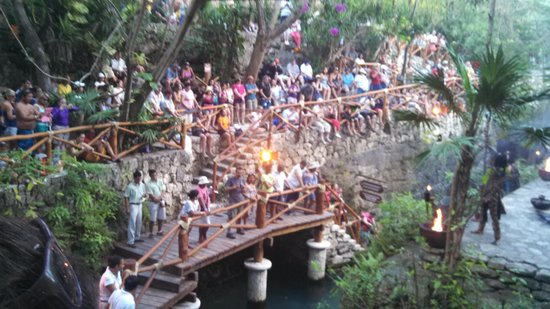 Xcaret Eco Theme Park: beautiful shows a must see
