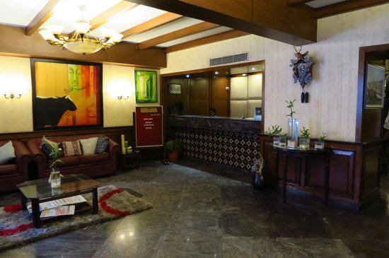 Nahar's Heritage Hotel : フロント