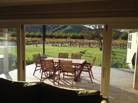 Mission Restaurant: The Farmhouse - view of patio
