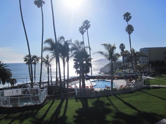SeaCrest OceanFront Hotel : aussicht
