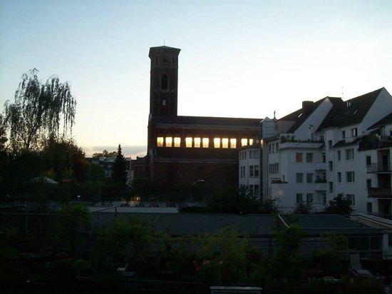 Hotel Lyskirchen : nochmals Zimmerausblick