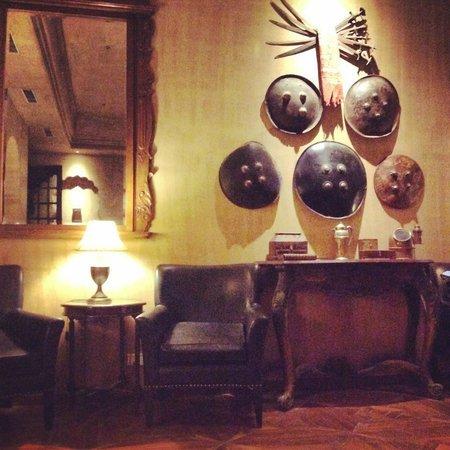 Suryagarh : hotel lobby