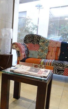 Panamericana Hotel Providencia: Reception
