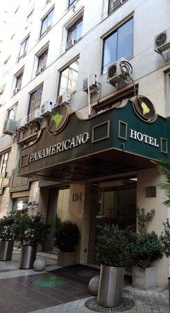 Panamericana Hotel Providencia: Eingang