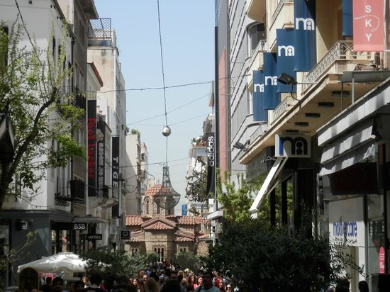 Athens Free Walking Tour : Rue piétonne Athènes