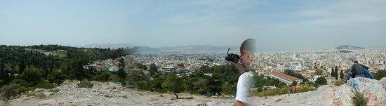 Athens Free Walking Tour : Vue d'Athènes