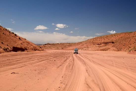 Antelope Slot Canyon Tours: ON THE WAY THERE
