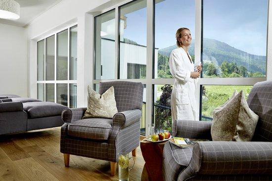 Biohotel Rupertus: Empfangsbereich SPA - Bio-Garten-Wellness ErholPOL