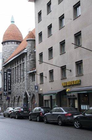 GLO Hotel Art : Отель - вид с улицы