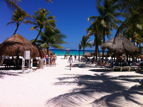 Viva Wyndham Azteca : Spiaggia azteca