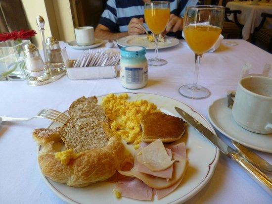 InterContinental Hotel Buenos Aires : Desayuno