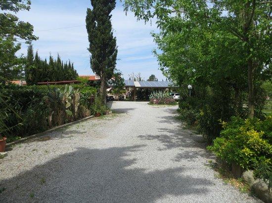 Case per Vacanze Le Pitte : Ingresso e parcheggi