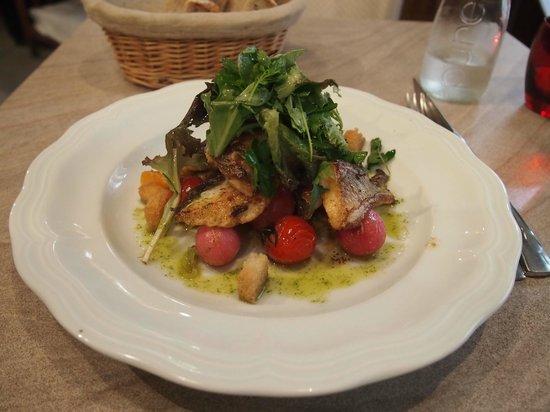 Chez Grenouille: main course - fish