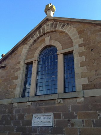 Hobart Convict Penitentiary: Penitentiary Chapel Dated 1831