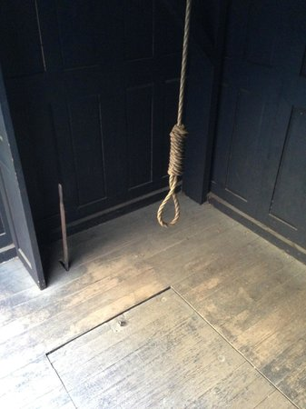 Hobart Convict Penitentiary: Hangman's Noose and Trap Door