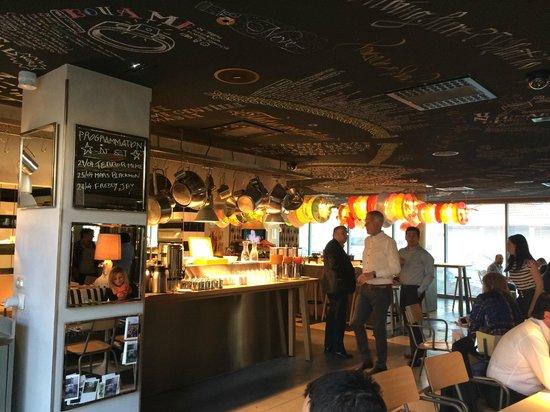 Mama Shelter Lyon: Ресторан