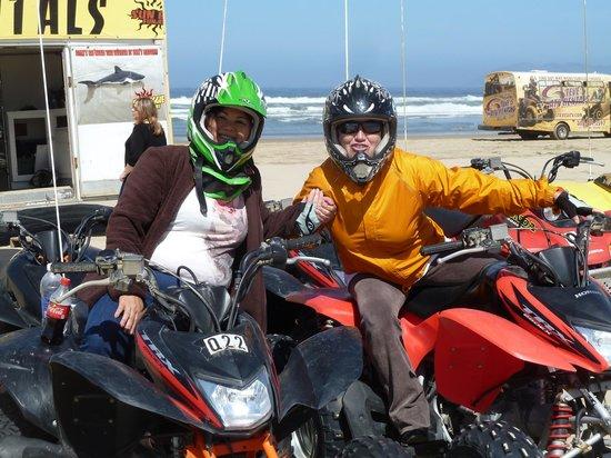 Sun Buggy & ATV Fun Rentals - Pismo Beach: Getting ready for our adventure!