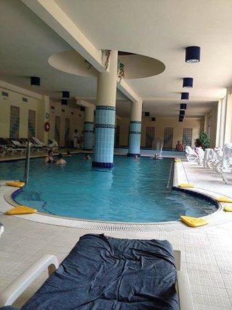 Grand Hotel Pigna Antiche Terme : Piscina interna terme