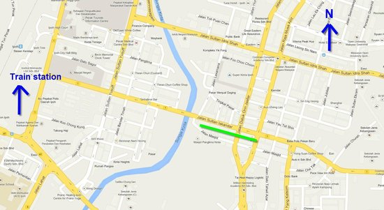 location map Picture of Art of OLDTOWN Ipoh TripAdvisor