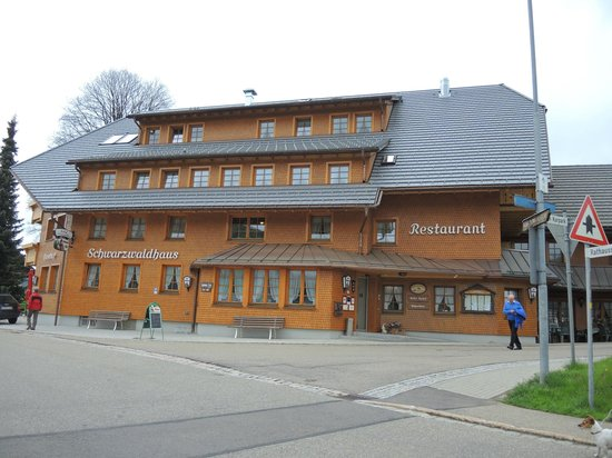 Gasthof Schwarzwaldhaus: Gasthaus Aussenansicht